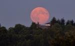 Wschód Księżyca w pełni